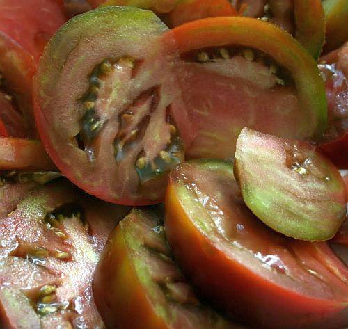 Tomate Prudens Purple Tomate rosa-violett - Tomaten Samen Samen