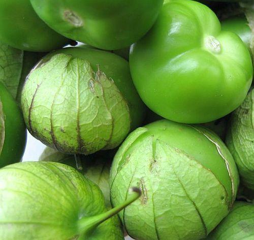 Tomatillo Verde tomato semillas
